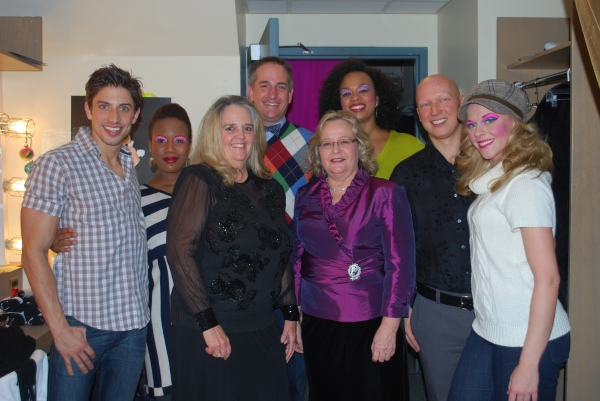 Nick Adams (Adam/Felicia), Anastacia McCleskey (Diva), Bettie George, B. James Bottoms (Auction Winner), Donna Stewart, Jacqueline B. Arnold (Diva), Radek Trefny and Ashley Spencer (Diva)