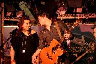 Susan Dunstan and  Photo