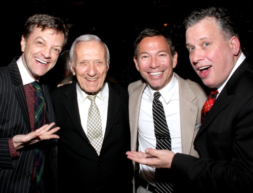 Jim Caruso, Dick Williams, Cortes Alexander & Billy Stritch at Jim Caruso's Cast Party at The Magic Castle, Hollywood