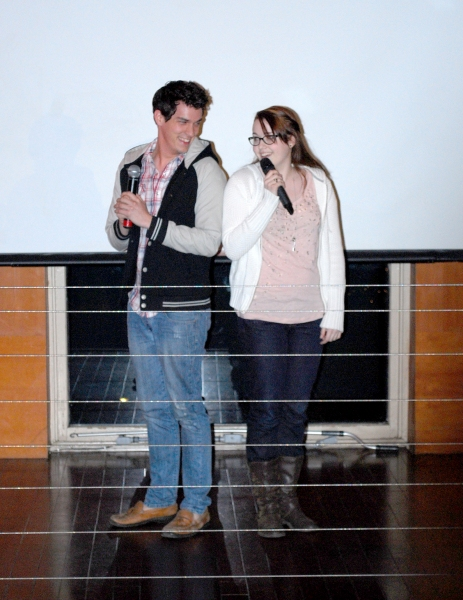 Photo Flash: NEXT TO NORMAL Tour Cast Visits Musical Mondays