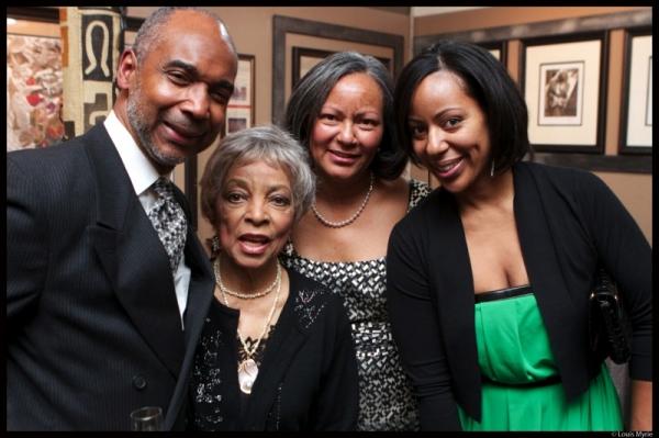 John Davis, Ruby Dee, Dorothy Davis, Janelle Gardner Photo