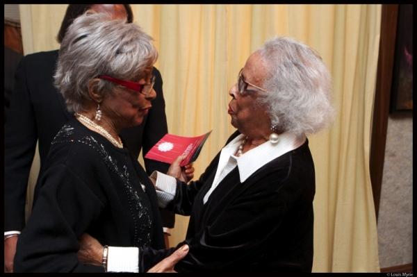 Photo Flash: Ruby Dee And Malik Yoba Headline TBAAL Benefit