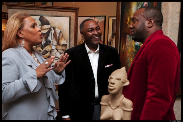 Georgia Noone-Sherrod, Art Sherrod Jr., Malik Yoba