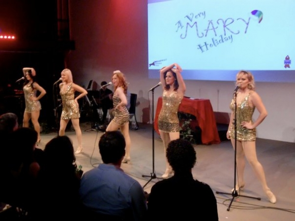 Photo Flash: A Very MARY Holiday benefiting The Ali Forney Center
