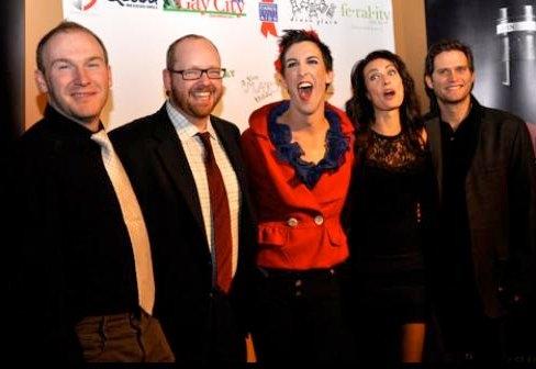 Sean Carlson, Jamie McGonnigal, Marti Gould Cummings, Laura Benanti, Steve Pasquale Photo