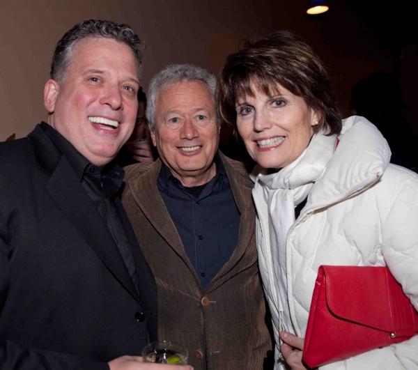 Billy Stritch, Stephen Sorokoff, Lucie Arnaz Photo