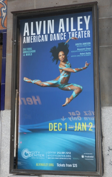 Alvin Ailey at Alvin Ailey's THREE BLACK KINGS