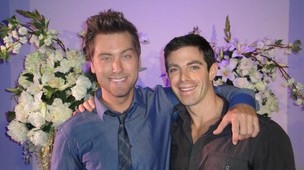 Lance Bass and David Moretti