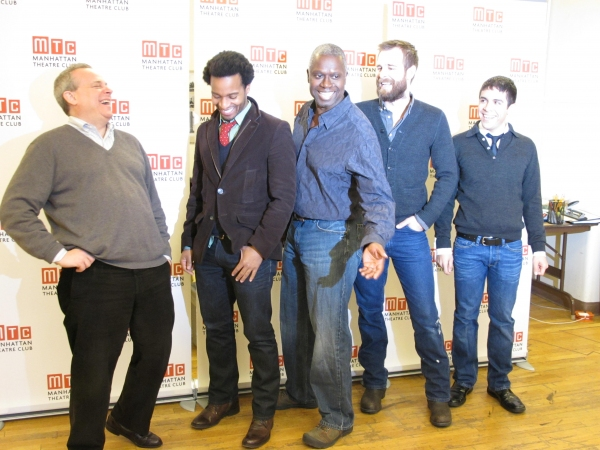 Photo Coverage: THE WHIPPING MAN Meets the Press