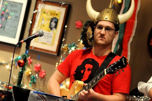 Matt Hinkley at Joe Iconis Celebrates Christmas in Concert
