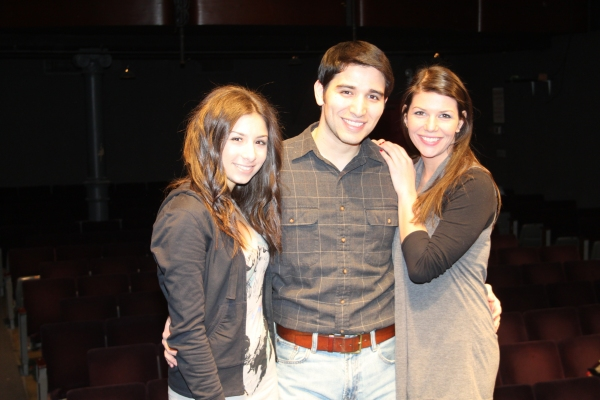 Tara Novie, Tony Ramos and Jillian Schochet