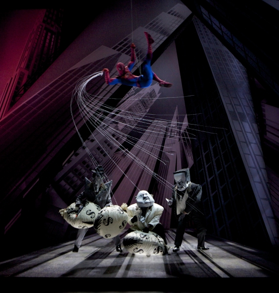 Spider-Man saves the day!