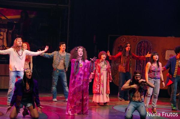 'Hair' se instala en el Teatre Apolo