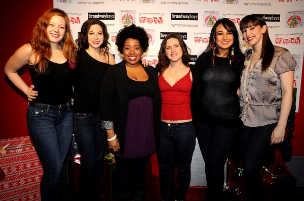 The Broadway Girls at Broadway Sings for 'Toys For Tots'