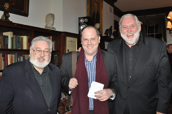 John Martello, David Cote and Jim Brochu