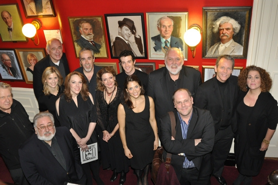 The Cast- Elena Shaddow, Mary Testa, Brian murray, Alison Fraser, Emily Skinner, Lenny Wolpe, Stephen Bogardus, John Martello, A.J. Shively, Jim Brochu, David Belcher, Elizabeth Inghram and David Cote