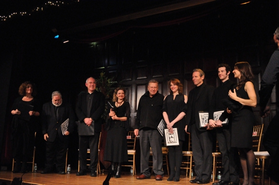 Mary Testa, John Martello, Lenny Wolpe, Alison Fraser, Brian Murray, Emily Skinner, Stephen Bogardus, A.J. Shively and Elena Shadow