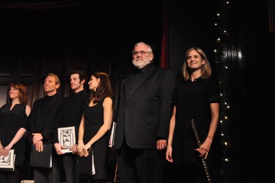 Emily Skinner, Stephen Bogardus, A.J. Shively, Elena Shadow, Jim Brochu and Elizabeth Inghram