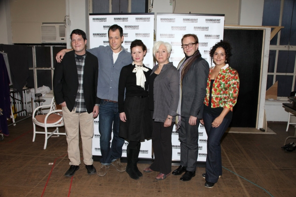 Photo Coverage: THE MILK TRAIN DOESN'T STOP HERE ANYMORE Cast Meets the Press