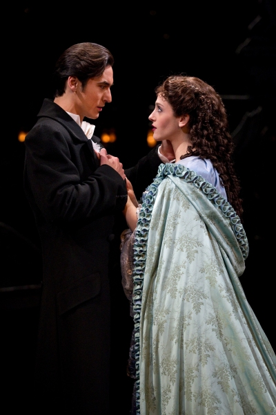 Photo Flash: Sean McLaughlin and Liz McCartney join THE PHANTOM OF THE OPERA