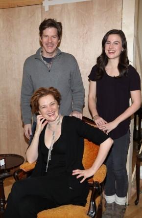 Rick Holmes, Francesca Faridany, Mikaela Feely-Lehmann,