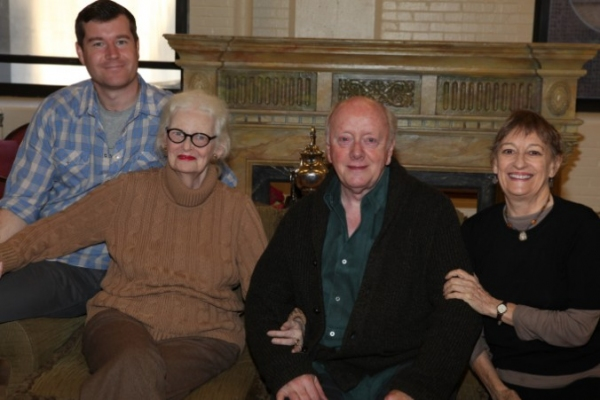 Photo Flash: The Atlantic Theater Company's NEW YORK IDEA In Rehearsal