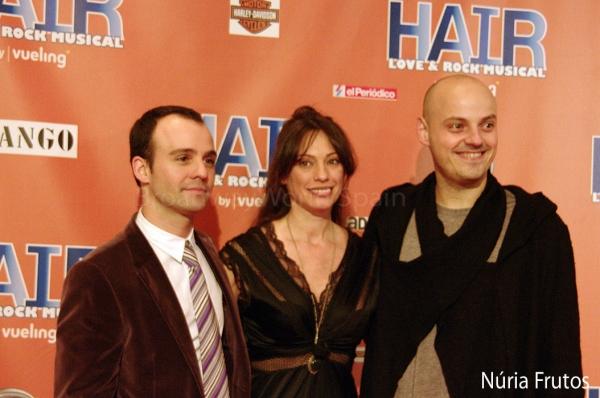 Daniel Anglès, Esther Luengo y Roger Julià