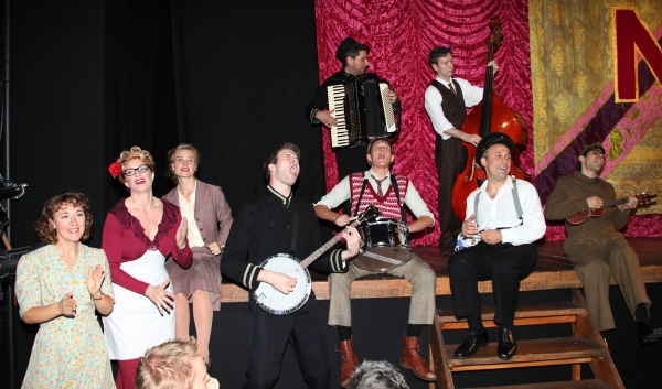 Dorothy Atkinson, Annette McLaughlin, Hannah Yelland, Adam Pleeth, Gabriel Ebert, Edward Jay, Tristan Sturrock, Joseph Alessi, Damon Daunno  - 'Noel Coward's Brief Encounter' at Studio 54 on 9/28/2010