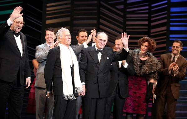 Neil Simon, Sean Hayes, Hal David, Rob Ashford, Katie Finneran -  'Promises, Promises' at the Broadway Theatre on 4/25/2010 at 2010 Curtain Call Highlights - Part One