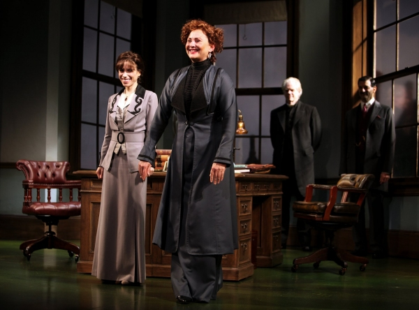 Sally Hawkins & Cherry Jones - Roundabout Theatre Company's Production of MRS. WARREN's PROFESSION at the American Airlines Theatre on 10/3/2010