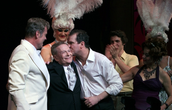 "Kelsey Grammer, Douglas Hodge, Jerry Herman - ""La Cage Aux Folles"" at the Longacre Theatre on 4/18/2010"
