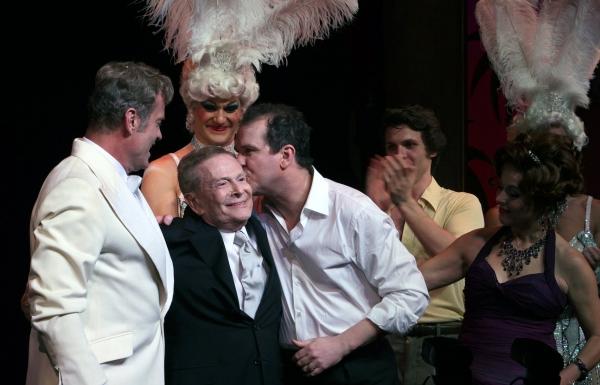 "Kelsey Grammer, Douglas Hodge, Jerry Herman - ""La Cage Aux Folles"" at the Longacre Theatre on 4/18/2010"