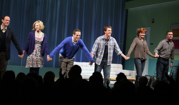 "Sean Dugan, Maddie Corman, Patrick Breen, Patrick Heusinger, Connie Ray & Cotter Smith - ""NEXT FALL"" at the Helen Hayes Theatre on 3/11/2010"