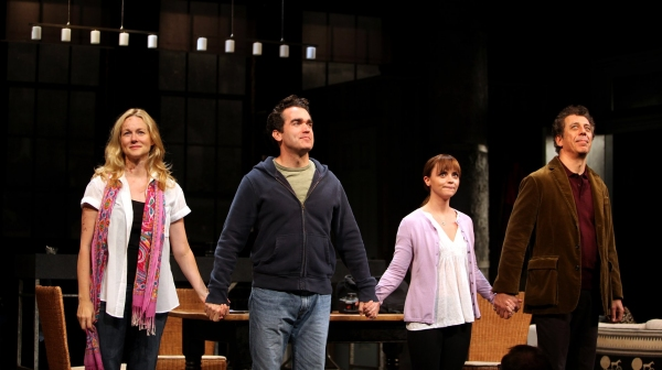 "Laura Linney, Brian D'Arcy James, Christina Ricci & - ""TIME STANDS STILL""  at The Cort Theatre on 10/7/2010"