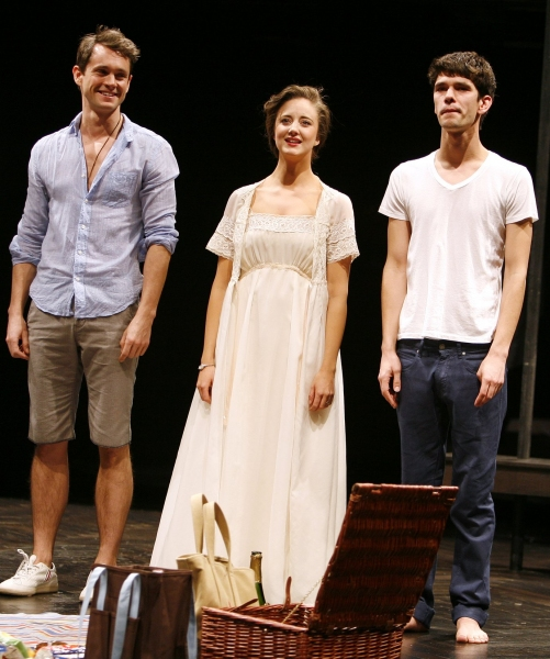 "Hugh Dancy, Andrea Riseborough & Ben Whishaw - ""THE PRIDE"" at the Lucille Lortel Theatre  on 2/16/2010"