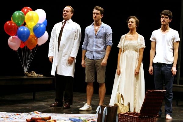 "Adam James, Hugh Dancy, Andrea Riseborough & Ben Whishaw - ""THE PRIDE"" at the Lucille Lortel Theatre  on 2/16/2010"
