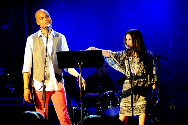 Darius Harper & Alexandra Socha at MY FAVORITE THINGS Benefit Concert