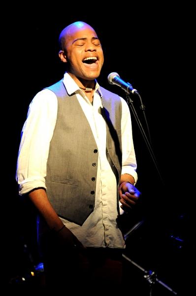 Darius Harper at MY FAVORITE THINGS Benefit Concert