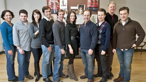 Photo Flash: Rehearsals Begin For The Pearl's THE MISANTHROPE