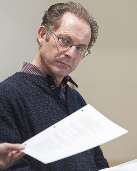 Dominic Cuskern  at Rehearsals Begin For The Pearl's THE MISANTHROPE
