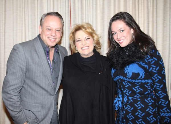 Roy Miller, Lorna Luft and Chelsea Lovett at Lorna Luft Opens at Feinsteins