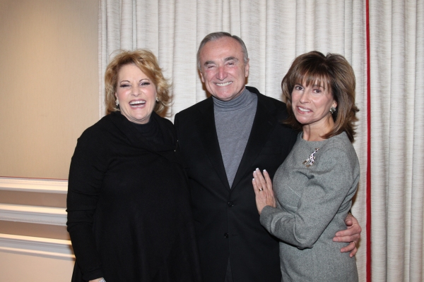 Lorna Luft, William Bratton and Rikki Klieman