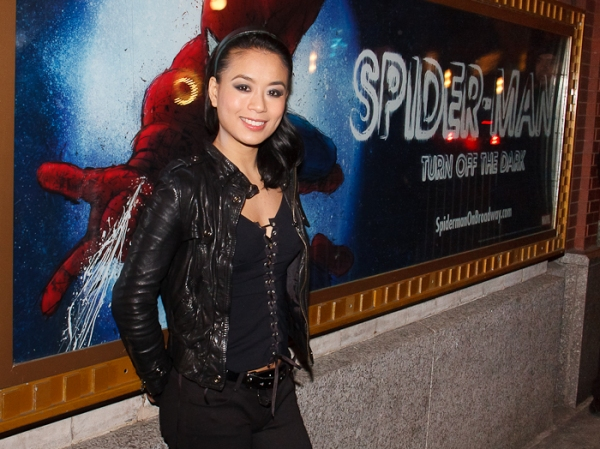 Photo Coverage: Celebrating T.V. Carpio's First Official Performance with the Cast of SPIDER-MAN