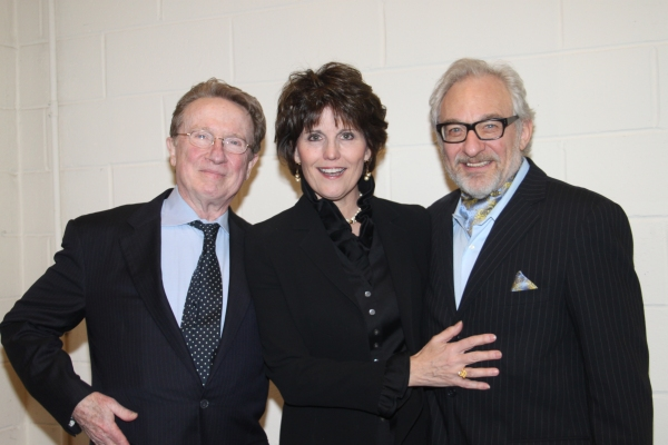 George Hearn, Lucie Arnaz and Timothy Jerome
