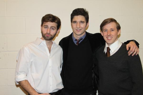 John Buffalo Mailer, Jake  Silbermann and Rob O'Hare