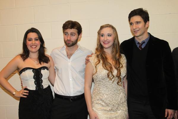 Katharine Luckinbill, John Buffalo Mailer, Emily Bridges and Jake Silbermann Photo
