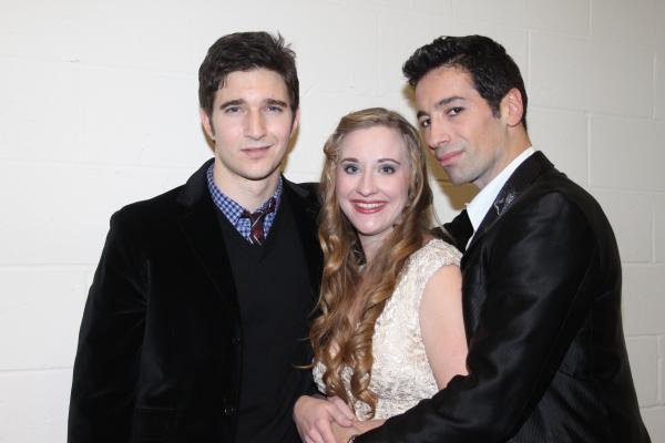 Jake Silbermann, Emily Bridges and Michel Altieri Photo