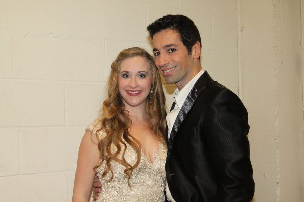 Emily Bridges and Michel Altieri