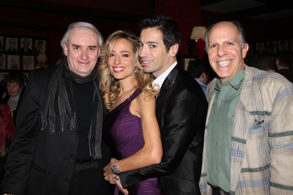 Paul Alexander, Jessica Polsky, Michel Altieri and Tony Travis