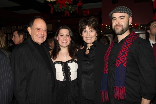 Laurence Luckinbill, Katharine Luckinbill, Lucie Arnaz and Ben Luckinbill